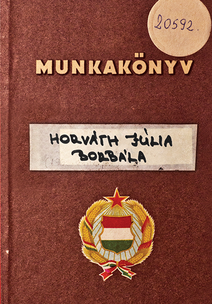 Horvath-Julia-Munkakonyv